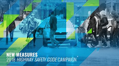 2018 Highway Safety Code Campaign