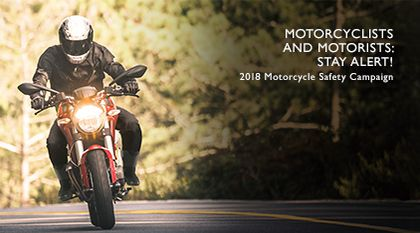 2018 Motorcycle Safety Campaign