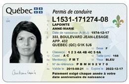 Obtenir le permis auto classe 5 saaq for Permis de conduire verification interieur et exterieur