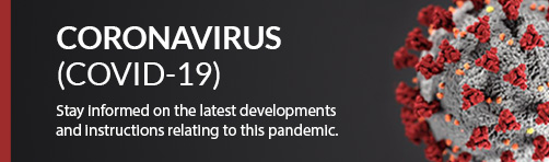 Illustration of the COVID-19 virus that leads to the related FAQ